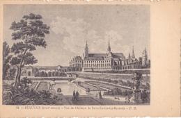 CPA,14-BEAUVAIS-VUE DE L'ABBAYE DE SAINT-LUCIEN-LES-BEAUVAIS. - Beauvais