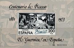 Espagne Bloc N** (Yv: 29) Yv:4,5 Euro Centenario De Picasso El Guernica En España - Blocs & Hojas