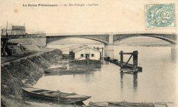CPA   -  RIS  ORANGIS  (91)   LE  PORT - Ris Orangis