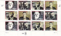 Vereinigte Staaten 1996. Erfinder, Muybridge, Mergenthaler, Yves, Dickson (B.1325) - Etats-Unis