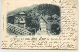 GRUSS AUS BAD RAIN Bei Oberstaufen. - Oberstaufen