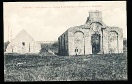 62 CALAIS / Les Ruines De L'Ancien Fort Nieulay, L'Eglise Et La Poudrière / - Calais