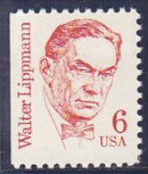 Vereinigte Staaten 1995. W. Lippmann, Journalist (B.1317.1) - Etats-Unis