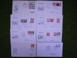 A2015) Grönland Dänemark Denmark 13 Belege - Lots & Serien