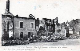 BAZEILLES - Place De La Commune Au Lendemain De La Bataille (15) - France
