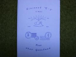 A2018) Buch Eisinsel T-3 Post über Grönland - Sehr Interessant - Manuali