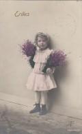 AK Erika Kind Mit Blumen Gelaufen Westhofen 22.9.11 - Kinder