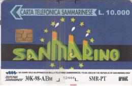 SAN MARINO(chip) - Europa Card Show/Riccione 1998(ABM), Tirage 30000, 08/98, Mint - San Marino