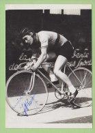 A Identifier : RAVEAU (?). Autographe Manuscrit, Dédicace. 2 Scans. Photo Picoche - Cyclisme