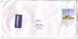 GOOD GERMANY Postal Cover To ESTONIA 2005 - Good Stamped: Lighthouse - [7] République Fédérale