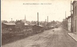 Seine Maritime : Blangy Sur Bresle, Rue De La Gare - Blangy-sur-Bresle