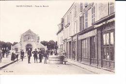 SAUZE-VAUSSAIS  --  Place Du Marché - Sauze Vaussais