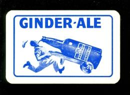 Speelkaart ( 422 ) Bier Bière Bieren Bières Brasserie Brouwerij -  Ginder Ale - Barajas De Naipe