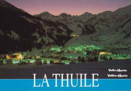 * * THUILLE * * Vue Nocturne ( Carte Vierge ) - Italia