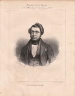 Portrait De Adolphe ADAM (musicien) - Lithographie Originale De ALOPHE - 1839 - Lithographies