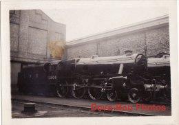 Railway Photo LMS Stanier Black 5 5004 Crewe Works 1935 4-6-0 Loco - Trains