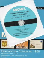 MICHEL Ganzsachen Ost Europa Ab 1960 Katalog 2013 Neu 78€ Mit CD+Neuheiten BG GR Moldawien PL RO RU USSR UA TK BR Zypern - Logiciels