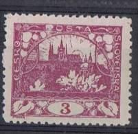 TCH 36 - TCHECOSLOVAQUIE N° 2 Neuf** Dentelé - Tchécoslovaquie