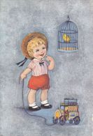 Rhodania - Petit Garçon - Oiseau En Cage - Tacot - Kinder