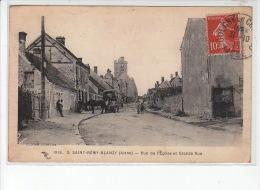 SAINT REMY-BLANZY - Rue De L'église Et Grande Rue - Très Bon état - Autres Communes