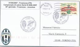 FROSINONE-JUVENTUS Campionato Serie B 2006-2007 - Cancel - Club Mitici
