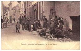 06  CHASSEURS ALPINS  En Manoeuvre  En Popote - Francia