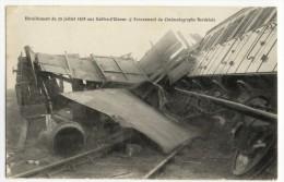 Déraillement Du 29 Juillet 1908 Aux Sables-d'Olonne. - Ecrasement Du Cinématographe Bordelais - Eisenbahnen