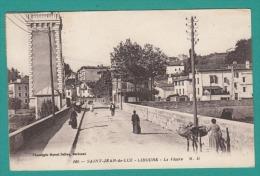 64 - SAINT JEAN DE LUZ CIBOURE   LE PHARE -  2 Scans -  Impeccable - Voyagé  N° 166 MD - Saint Jean De Luz