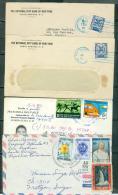 Lot 4 Lettres Toutes époque Confondue , République Dominicaine Ppour La France - Phi136 - Dominicaine (République)