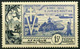 AOF (1954) PA N 17 * (charniere)