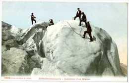 ALPILISME  GLETSCHERBESTEIGUNG ASCENSION D UN GLACIER - Alpinisme