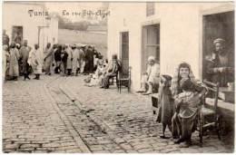Tunisie, Tunis, La Rue Sidi-Ayet - Tunisie