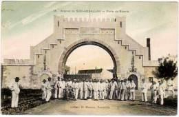 Tunisie, Bizerte, Arsenal De Sidi-Abdallah, Porte De Bizerte - Tunisie