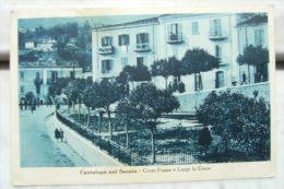 CARTOLINA Di CANTALUPO NEL SANNIO  ISERNIA  FORMATO PICCOLO B852 VIAGGIATA FRANCOBOLLO STACCATO - Isernia