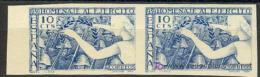ES887s-L2148TSC.España.Sp Ain.Espagne.HOMENAJE AL EJERCITO  1938.(Ed 887s**) Par.sin Charnela LUJO - Sin Clasificación