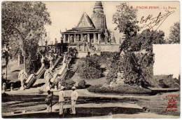 Cambodge, Pnom-Penh, Le Pnom - Cambodge
