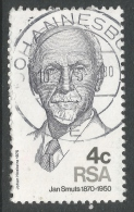 South Africa. 1975 Smuts Commemoration. 4c Used - South Africa (1961-...)