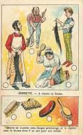 Chromos Réf. C891. Duroyon Et Ramette - Devinette, A Chacun Sa Brosse - Duroyon & Ramette