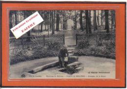 Carte Postale 61. Bellême  Fontaine De La Herse  En Forêt De Bellême   Trés Beau Plan - France
