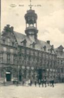 Belgique:MONS(Hainaut) :Hôtel-de-Ville.1911.Plusieurs Personnages. - Monuments