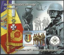 RO 2012-6669 ANTITERORISAM, ROMANIA, S/S, MNH - Militaria