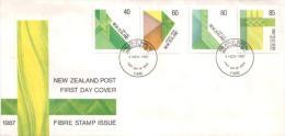 Neuseeland / New Zealand - Mi-Nr 1006/1009 FDC (z637) - FDC