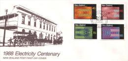 Neuseeland / New Zealand - Mi-Nr 1010/1013 FDC (z638) - FDC