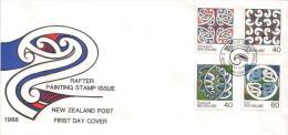 Neuseeland / New Zealand - Mi-Nr 1017/1020 FDC (z639) - FDC