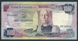 ANGOLA 1000 ESCUDOS 1972 P103 -CA - Angola