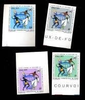 CONTRE RACISME   773/776**    3/1971  NON DENTELES - República Democrática Del Congo (1964-71)