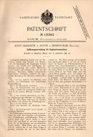 Original Patentschrift - J. Harrison In Aston B. Birmingham ,1897 , Ball Sorting Machine !!! - Tools