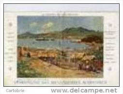MAYOTTE-Le Djemnah En Rade-Messageries Maritimes-en L´état:pli Central - Mayotte