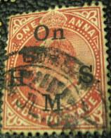 India 1902 King Edward VII Service 1a - Used - India (...-1947)
