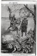 DRAPEAU DU 81e  REGIMENT D'INFANTERIE DECHIQUETE PAR LA MITRAILLE - Illustr. ELOI RAU 1914 -ed. CLAUDIUS A MARSEILLE   - - Régiments